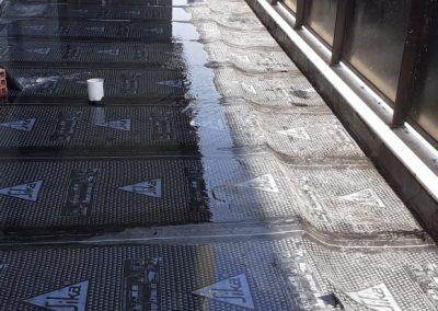 Impermeabilização de sacada com manta asfaltica