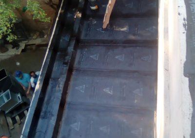 Impermeabilização com manta asfaltica em terraço