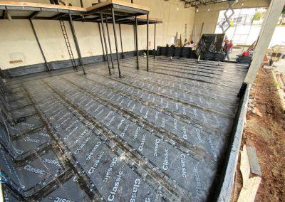 Impermeabilização mezanino manta asfaltica