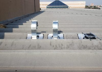 Impermeabilização de duto com manta asfaltica aluminizada